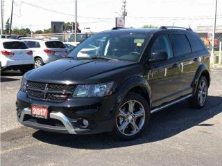 Used 2017 Dodge Journey Crossroad**7 Passenger**DVD**NAV**Back UP Camera** for sale in Mississauga, ON