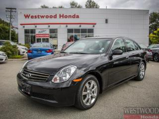 Used 2006 Infiniti G35X Base for sale in Port Moody, BC