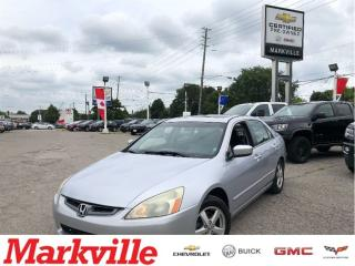 Used 2004 Honda Accord EX-L-LEATHER-ROOF-CERTIFIED-CLEAN!!! for sale in Markham, ON