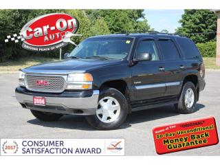 Used 2006 GMC Yukon SLT 5.3L 4X4 8 PASSENGER LEATHER HTD SEATS LOADED for sale in Ottawa, ON