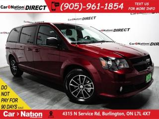 Used 2017 Dodge Grand Caravan SXT Plus| STOW N' GO| DVD| LOW KM'S| for sale in Burlington, ON