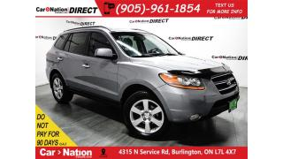 Used 2008 Hyundai Santa Fe Limited| AWD| LEATHER| SUNROOF| LOCAL TRADE| for sale in Burlington, ON
