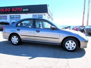 Used 2004 Honda Civic SPICIEL EDITION SEDAN ATUTOMATIC for sale in Milton, ON