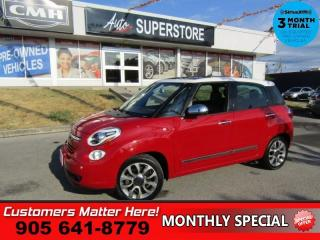 Used 2014 Fiat 500 L Lounge  NAV HS MANUAL LEATHER PANO-ROOF for sale in St. Catharines, ON