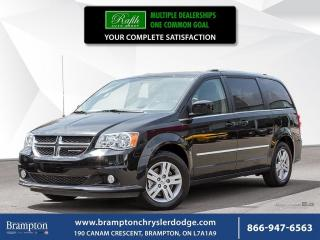 Used 2017 Dodge Grand Caravan CREW | CLEAN CARPROOF | for sale in Brampton, ON