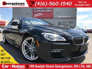Used 2016 BMW 6 Series Grand Coupe xDrive | NAVI | CAM |M PKG|PANO ROOF for sale in Georgetown, ON