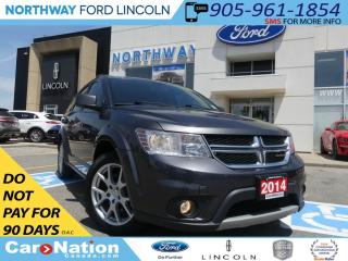 Used 2014 Dodge Journey SXT | REMOTE START | HEATED SEATS | MOON ROOF | for sale in Brantford, ON