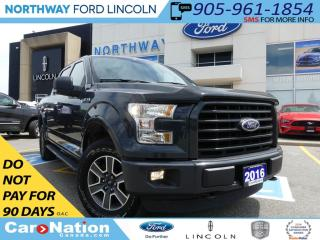 Used 2016 Ford F-150 XLT | REMOTE START | REAR CAMERA | V8 | 4X4 | for sale in Brantford, ON