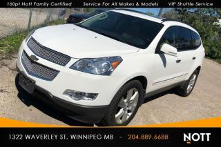 Used 2011 Chevrolet Traverse LTZ AWD Nav Cam Heated/Cooled for sale in Winnipeg, MB