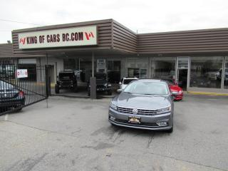 Used 2017 Volkswagen Passat 1.8L TSI - NAVIGATION - LEATHER SEATS for sale in Langley, BC
