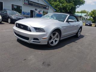Used 2014 Ford Mustang 5.0L convertible 60k auto we finance GT for sale in Madoc, ON