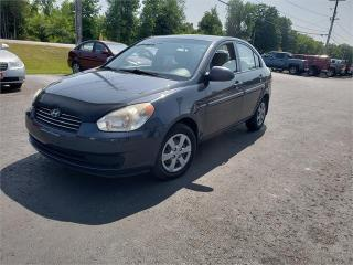 Used 2008 Hyundai Accent (Ronnieb's bloomfeild) safetied GL for sale in Madoc, ON