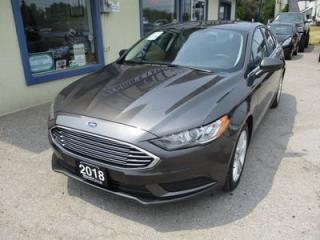 Used 2018 Ford Fusion FUEL EFFICIENT SE MODEL 5 PASSENGER 2.5L - DOHC.. CD/USB INPUT.. BACK-UP CAMERA.. POWER SUNROOF.. for sale in Bradford, ON
