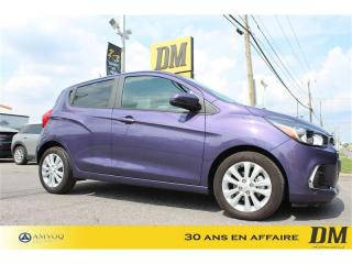 Used 2017 Chevrolet Spark LT A/C CAMERA RECUL MAGS CRUISE BLUETOOTH for sale in Salaberry-de-Valleyfield, QC