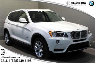 Used 2014 BMW X3 xDrive28i NAV, LEATHER, HEATED FRONT AND REAR SEATS for sale in Regina, SK