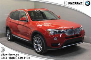 Used 2015 BMW X3 xDrive28d PANA SUNROOF, NAV, POWER TAILGATE, BLIND SPOT DETECTION for sale in Regina, SK