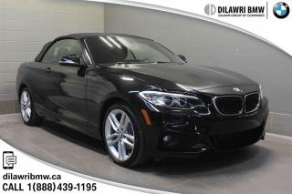 Used 2017 BMW 230i xDrive Cabriolet PREMIUM PACKAGE ENHANCED, EXECUTIVE PACKAGE for sale in Regina, SK