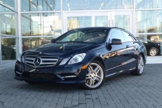 Used 2012 Mercedes-Benz E550 Coupe `*Low KM!* for sale in Vancouver, BC