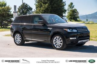 Used 2015 Land Rover Range Rover Sport V6 HSE *Certified Pre-Owned! for sale in Vancouver, BC