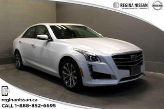 Used 2016 Cadillac CTS Sedan AWD 3.6L Luxury NAVIGATION - SUNROOF - BLUETOOTH - LEATHER for sale in Regina, SK