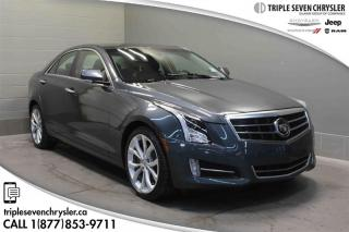 Used 2013 Cadillac ATS LFX AWD LEATHER - NAVIGATION - BLUETOOTH for sale in Regina, SK