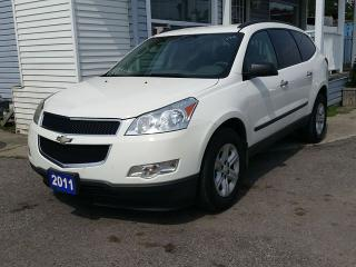 Used 2011 Chevrolet Traverse LS AWD 8 PASSENGER SUV for sale in Barrie, ON