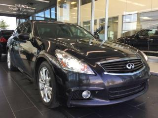 Used 2013 Infiniti G37 X HI-TECH PKG, NAVI, AWD, ACCIDENT FREE for sale in Edmonton, AB