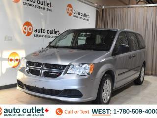 Used 2016 Dodge Grand Caravan Canada Value Package, 3.6L V6, Fwd, Third row 7 passenger seating, Cloth seats for sale in Edmonton, AB