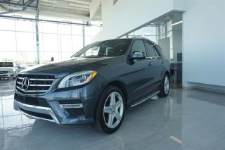 Used 2015 Mercedes-Benz ML 350 Bluetec AWD for sale in Trois-Rivières, QC