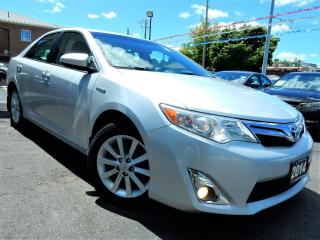 Used 2014 Toyota Camry XLE HYBRID | BACK UP CAMERA | BLUETOOTH | 112KM for sale in Kitchener, ON