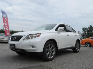 Used 2012 Lexus RX 350 3.5L V6 / NAVIGATION / ACCIDENT FREE for sale in Newmarket, ON
