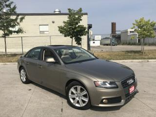 Used 2009 Audi A4 Quattro, AWD, 4 Dr, Auto, 3/Y warranty available for sale in North York, ON