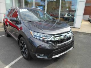 Used 2017 Honda CR-V Touring LEATHER HEATED SEATS AND HONDA SENSING for sale in Halifax, NS