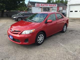 Used 2011 Toyota Corolla Automatic/Accident Free/Gas Saver/Certified for sale in Scarborough, ON