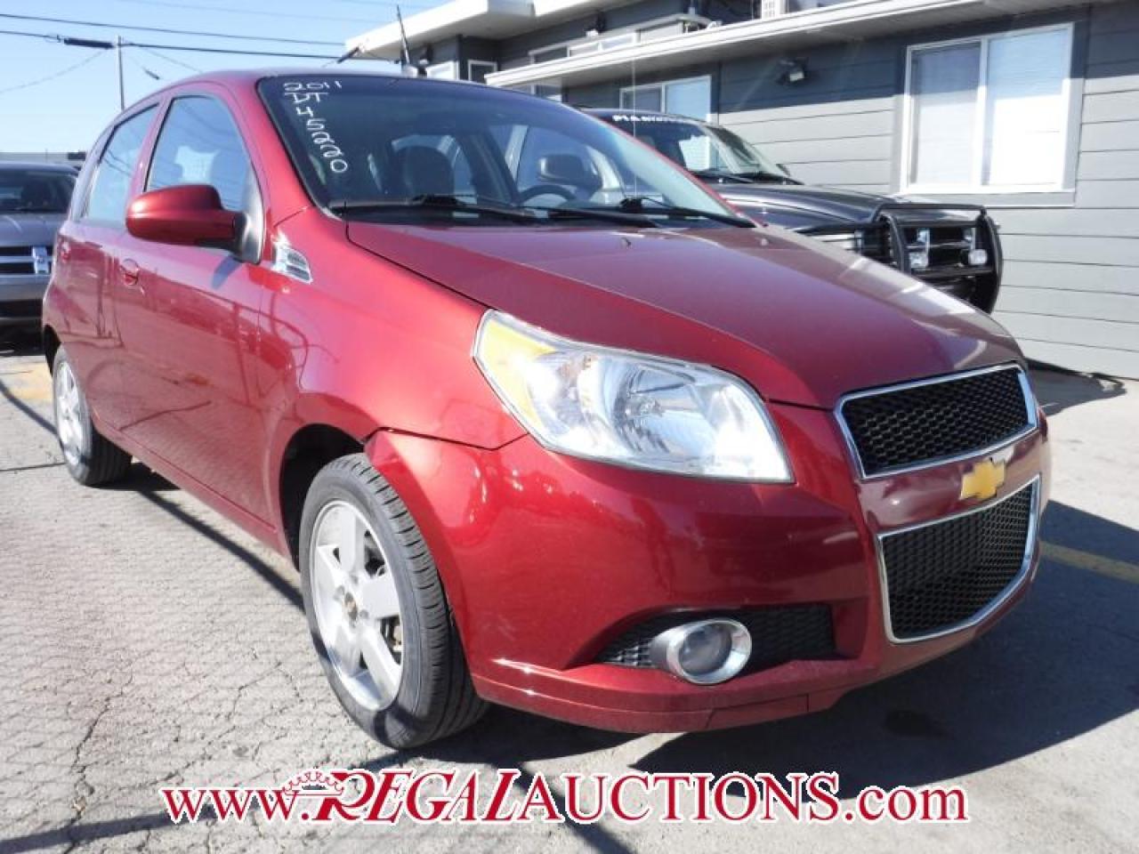 Photo of Red 2011 Chevrolet AVEO LT 4D HATCHBACK