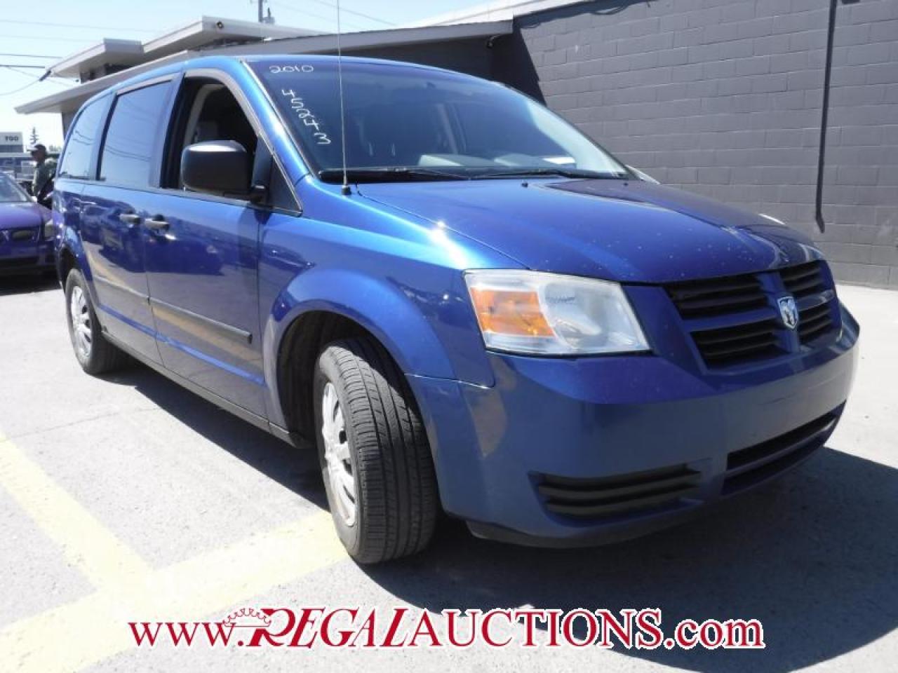 Photo of Blue 2010 Dodge Grand Caravan