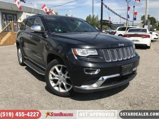 Used 2014 Jeep Grand Cherokee Summit | NAV | LEATHER | PANO ROOF for sale in London, ON