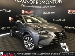 Used 2017 Lexus NX 200t Luxury Package for sale in Edmonton, AB