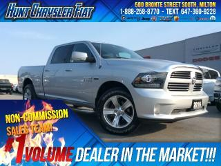Used 2016 RAM 1500 SPORT/CREW/4X4/ALPINE/CAM/BT & MORE!!! for sale in Milton, ON