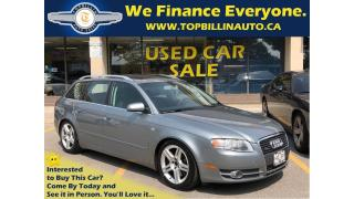 Used 2006 Audi A4 3.2 Avant AWD, Navigation, 2 Years Warranty for sale in Vaughan, ON
