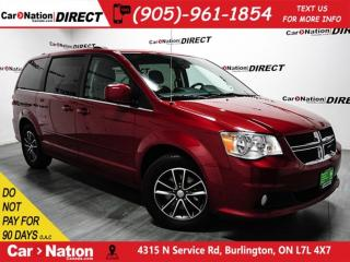 Used 2016 Dodge Grand Caravan Premium Plus| NAVI| DVD| LEATHER| LOCAL TRADE| for sale in Burlington, ON