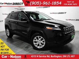 Used 2017 Jeep Cherokee North| 4X4| POWER DRIVERS SEAT| PUSH START| for sale in Burlington, ON