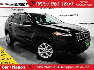Used 2017 Jeep Cherokee North| 4X4| NAVI| BACK UP CAMERA| for sale in Burlington, ON