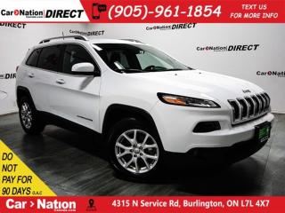 Used 2017 Jeep Cherokee North| 4X4| TOUCH SCREEN| OPEN SUNDAYS| for sale in Burlington, ON