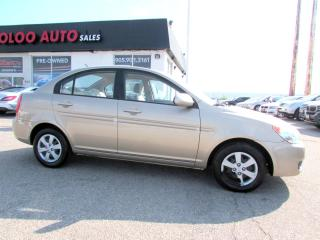 Used 2009 Hyundai Accent GLS Sedan 5 Speed Manual Certified 2YR Warranty for sale in Milton, ON