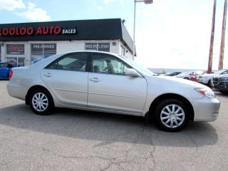 Used 2003 Toyota Camry LE SEDAN AUTOMATIC 2.4L for sale in Milton, ON