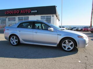 Used 2005 Acura TL 3.2L AUTOMATIC LEATHER SUNROOF CERTIFIED 2YR WARRANTY for sale in Milton, ON