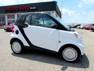 Used 2010 Smart fortwo Passion Coupe Rear View Camera Certified 2YR Warranty for sale in Milton, ON