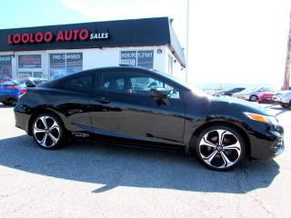 Used 2015 Honda Civic Si Coupe 6-Speed Manual Navigation Camera Certified 2YR Warranty for sale in Milton, ON