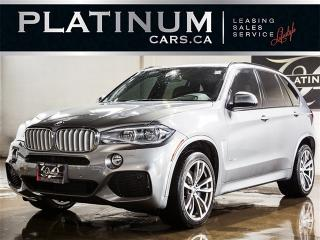 Used 2014 BMW X5 xDrive50i, M-SPORT, TECH PKG, DRIVE ASSIST, PANO for sale in North York, ON
